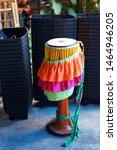 tom tom  thai traditional... | Shutterstock . vector #1464946205