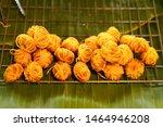 traditional thai dessert in... | Shutterstock . vector #1464946208