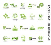 ecology icons set    isolated... | Shutterstock .eps vector #146495726