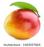 Mango  One Fruit With Leaf...