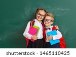 funny happy group children  ... | Shutterstock . vector #1465110425