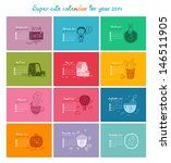 Cute Doodle Calendar For 2014...