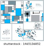 the minimalistic abstract...   Shutterstock .eps vector #1465136852