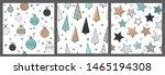 cute christmas seamless pattern ...   Shutterstock .eps vector #1465194308