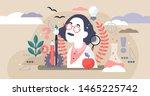 genius vector illustration.... | Shutterstock .eps vector #1465225742