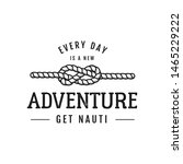 nautical adventure style... | Shutterstock .eps vector #1465229222