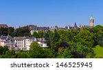 architecture of luxembourg city ... | Shutterstock . vector #146525945
