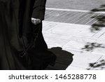 Detail Of Greek Orthodox Priest