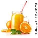 Fresh Orange Juice With Fruit...