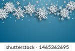 christmas illustration of white ... | Shutterstock .eps vector #1465362695