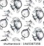 vector seamless pattern with... | Shutterstock .eps vector #1465387358