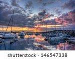Sunset Over Swedish West Coast