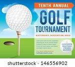 a nice design for a golf... | Shutterstock .eps vector #146556902