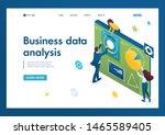 young team of entrepreneurs... | Shutterstock .eps vector #1465589405
