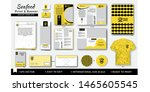 sea food stationary design... | Shutterstock .eps vector #1465605545