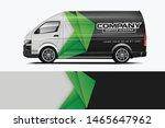 van wrap design. wrap  sticker... | Shutterstock .eps vector #1465647962