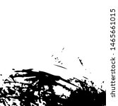 black monochrome ink stains... | Shutterstock .eps vector #1465661015