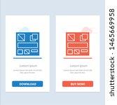 design  mockup  web  blue and...