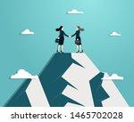 business vision  business women ... | Shutterstock .eps vector #1465702028