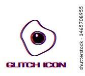 oomelette icon flat. simple... | Shutterstock .eps vector #1465708955