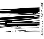 black large ink brush strokes... | Shutterstock .eps vector #1465717418