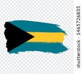flag the bahamas from brush...