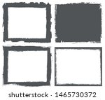 grunge frames set. grunge... | Shutterstock .eps vector #1465730372