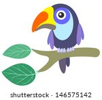toucan. vector illustration | Shutterstock .eps vector #146575142