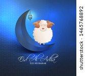 vector illustration. muslim...   Shutterstock .eps vector #1465768892