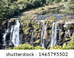Beaultiful View Of A Waterfall...