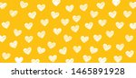 yellow love heart month hearts... | Shutterstock .eps vector #1465891928