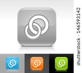 circles icon set. green  gray ...