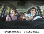Portrait Of Smiling Couple With ...