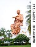 lord buddha. golden statue.... | Shutterstock . vector #1465954118