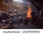 Young Traditional Blacksmith...