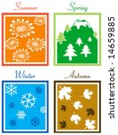 four season | Shutterstock .eps vector #14659885