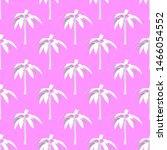 seamless pattern. white banana... | Shutterstock . vector #1466054552