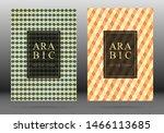 arabesque pattern vector cover... | Shutterstock .eps vector #1466113685