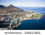 aerial view of cape town with v ... | Shutterstock . vector #146611862