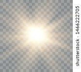 glow light effect. starburst... | Shutterstock .eps vector #1466222705