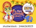 Happy Onam Festival Sale Desig...