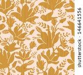 textured wooden magnolia... | Shutterstock . vector #146641556