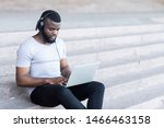 Young Bearded African Guy In...
