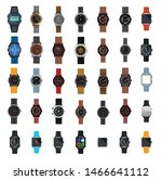 hand watch vector icon...   Shutterstock .eps vector #1466641112