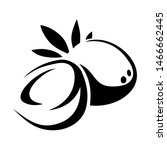 vector black silhouette of a... | Shutterstock .eps vector #1466662445