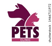 vet clinic pets health isolated ... | Shutterstock .eps vector #1466711972