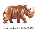 Rhinoceros Rhino Sculpture Mad...