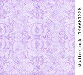 Vintage Pastel Purple Floral...
