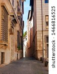 Narrow Solitary Street In The...