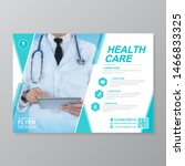 corporate healthcare cover a4...   Shutterstock .eps vector #1466833325